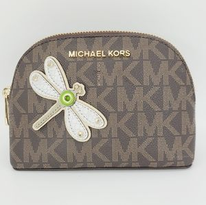 Michael Kors Cosmetic Case Dragonfly
